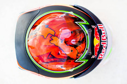 The helmet of Brendon Hartley, Scuderia Toro Rosso