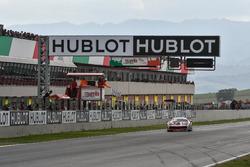 Race winner #8 Octane 126 Ferrari 488: Fabio Leimer