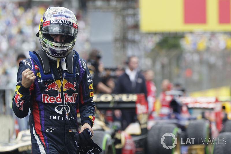 Ganador del GP de Brasil 2013: Sebastian Vettel, Red Bull Racing