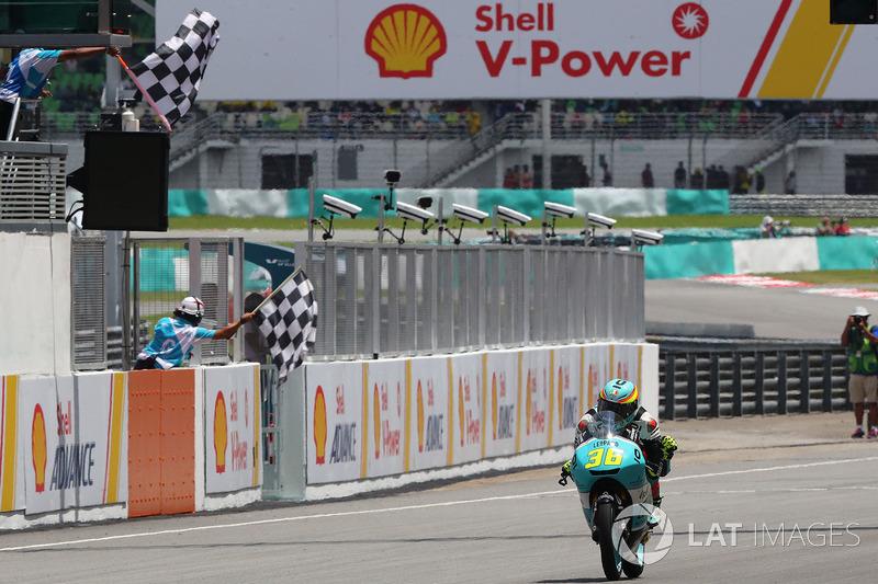 Ganador, Joan Mir, Leopard Racing
