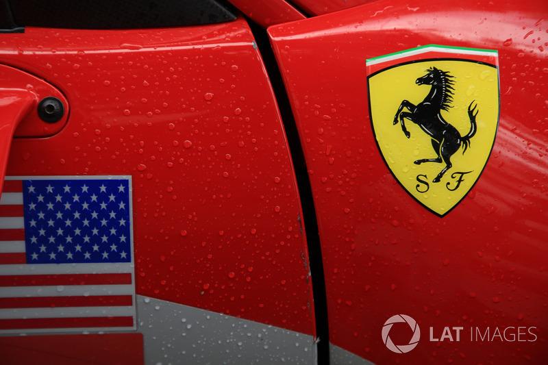 Logo Ferrari, dettaglio