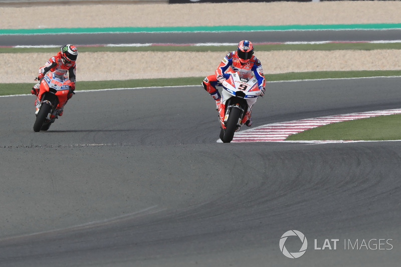 Хорхе Лоренсо, Ducati Team, Даніло Петруччі, Pramac Racing