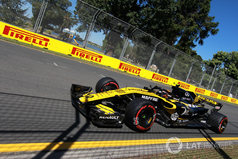 11. Carlos Sainz Jr., Renault Sport F1 Team RS18