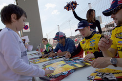Florian Venturi, GO Fas Racing Ford with Fans