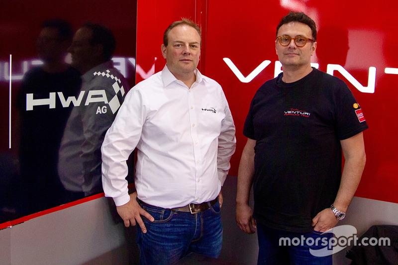 Gildo Pallanca Pastor, owner, Venturi Formula E, Ulrich Fritz, HWA AG CEO