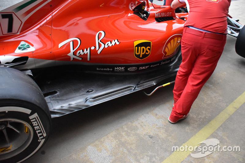 Ferrari SF71H tabanı