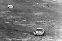 L'incidente di David Pearson e Richard Petty dopo la conclusione della gara