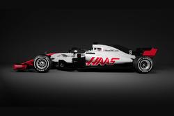 Haas F1 Team 2018 livery