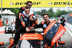 Yarış galibi #26 G-Drive Racing Oreca 07 - Gibson: Roman Rusinov, Andrea Pizzitola, Jean Eric Vergne