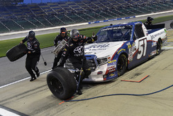 Brandon Jones, Kyle Busch Motorsports, Toyota Tundra Lyons Industries/Menards