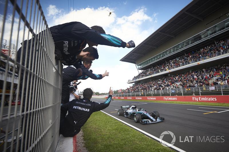 GP de España: Lewis Hamilton