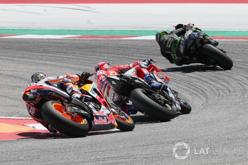 Жоанн Зарко, Monster Yamaha Tech 3, Андреа Довіціозо, Ducati Team, Дані Педроса, Repsol Honda Team