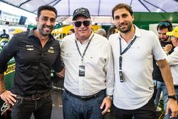 João Adibe, Carlos Zarlenga e Rodrigo Mathias