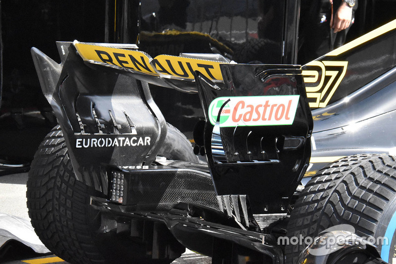 Renault Sport F1 Team R.S. 18 rear wing detail