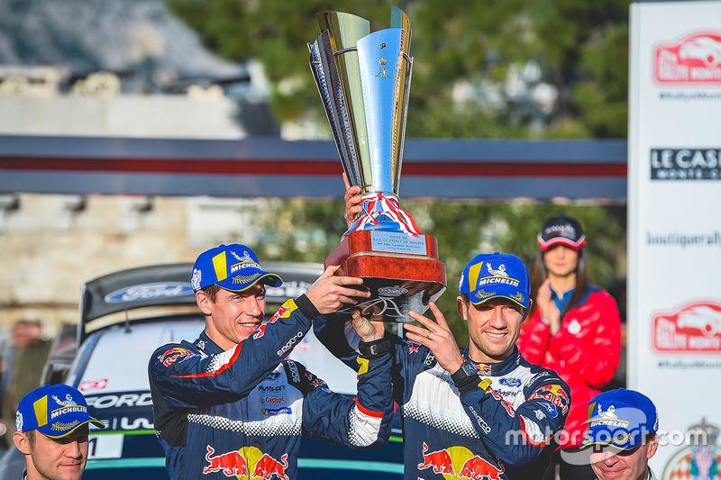 2018 - Sixième victoire d'Ogier : M-Sport Ford Fiesta WRC