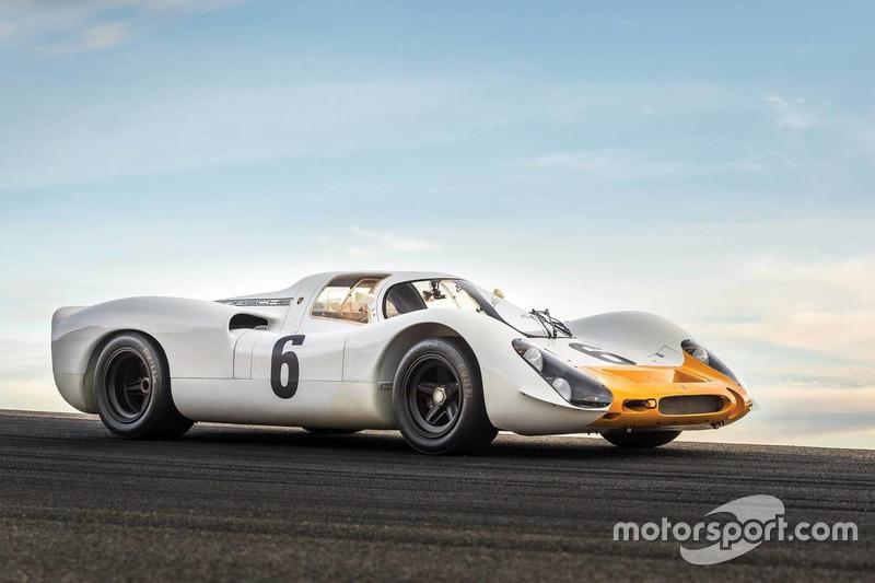 Porsche 908 Works 'Short-Tail' Coupe uit 1968