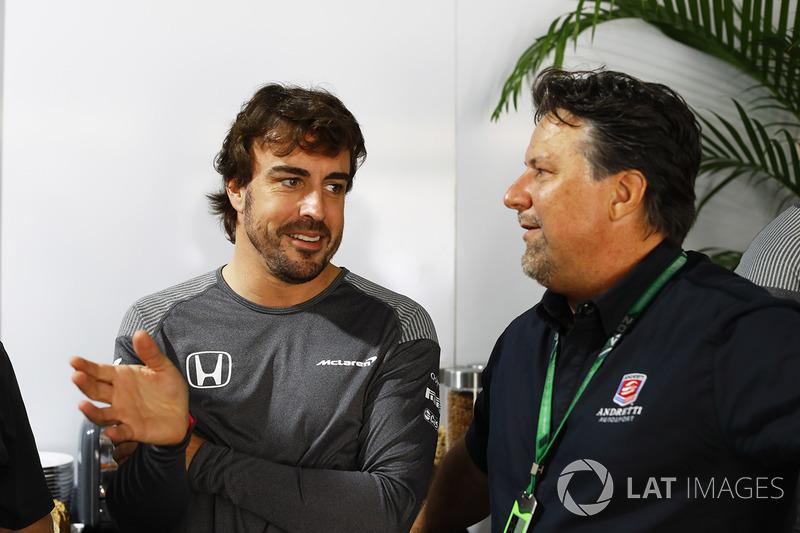 Fernando Alonso, McLaren, Michael Andretti