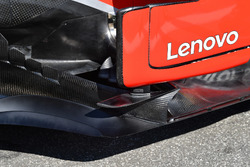 Ferrari SF71H barge board detail