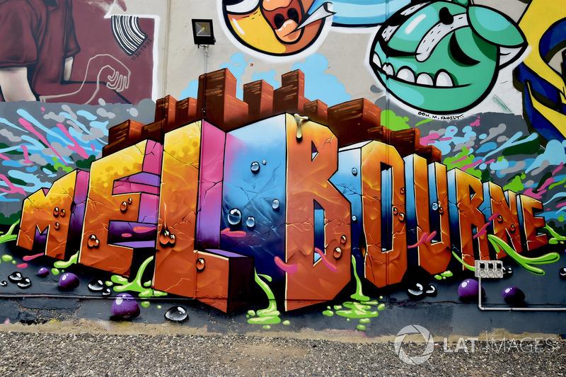 Гран Прі Австралії: графіті