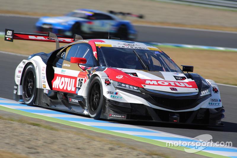 Хидеки Муто и Дайсуке Накаджима – Team Mugen, №16 (Honda NSX-GT)