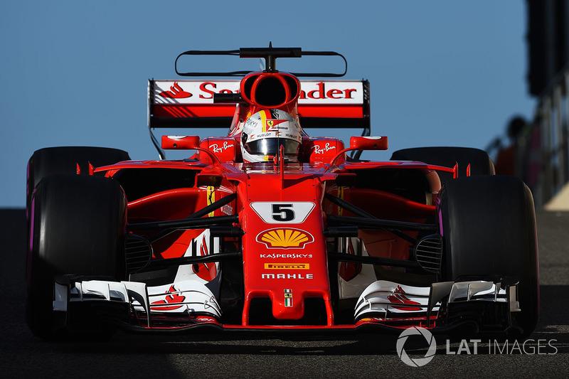3. Sebastian Vettel, Ferrari (141 poin)