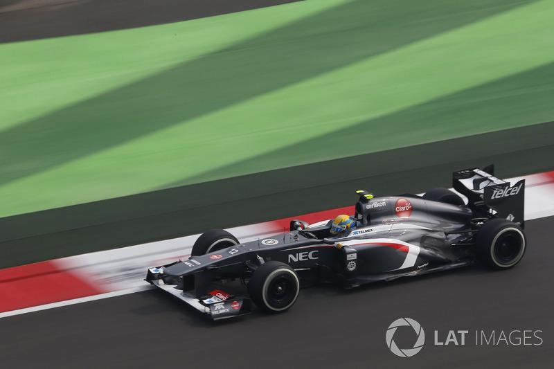 2013: Sauber-Ferrari C32