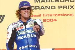 Race winner Sete Gibernau