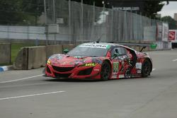 #93 Michael Shank Racing with Curb-Agajanian Acura NSX, GTD: Lawson Aschenbach, Justin Marks Art Fle