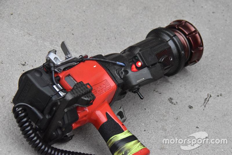 Ferrari lastik tabancası