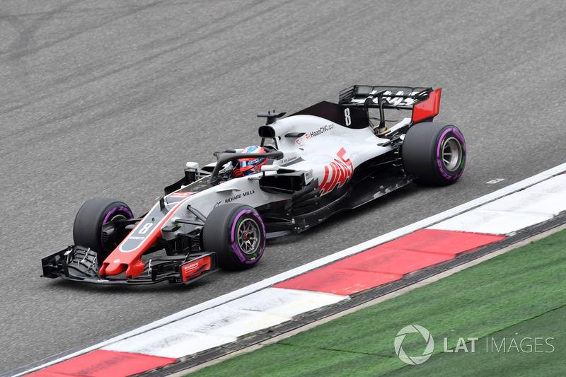 10. Romain Grosjean, Haas F1 Team VF-18
