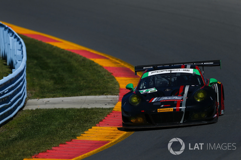 #73 Park Place Motorsports Porsche 911 GT3 R, GTD: Patrick Lindsey, Joerg Bergmeister