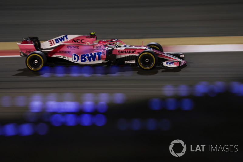8. Естебан Окон, Force India VJM11 Mercedes