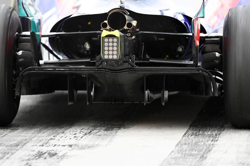 Дифузор Scuderia Toro Rosso STR13
