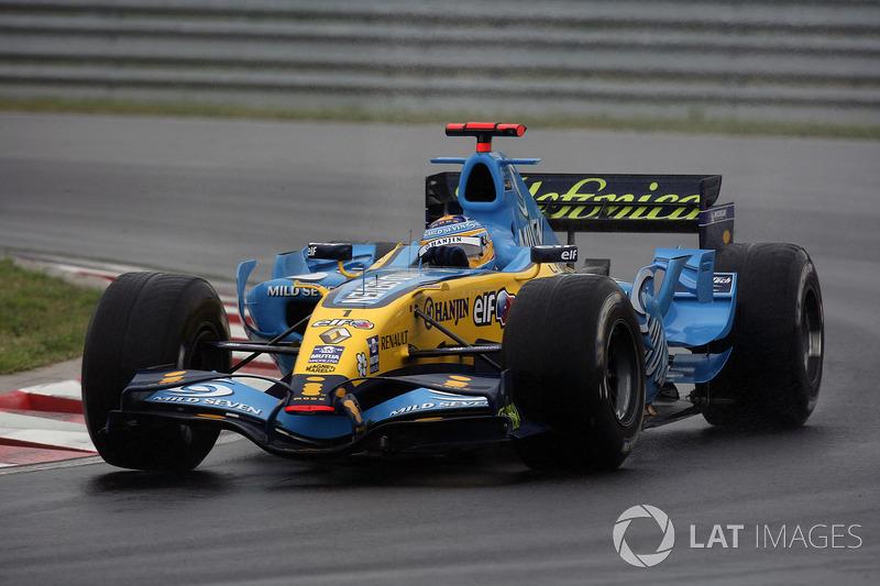 2006: Renault R26 (восемь побед и 11 подиумов, титул в КК)