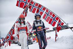 Скотт Мартин, Citroën World Rally Team, и Дэниэл Бэрритт, M-Sport Ford