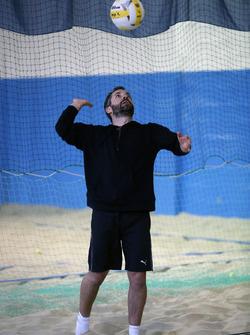 Timo Glock, Kapalı alan plaj voleybolu