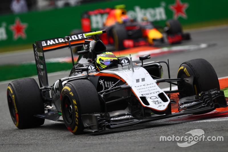 2016: Force India VJM09 (два подиума, 4-е место в КК)
