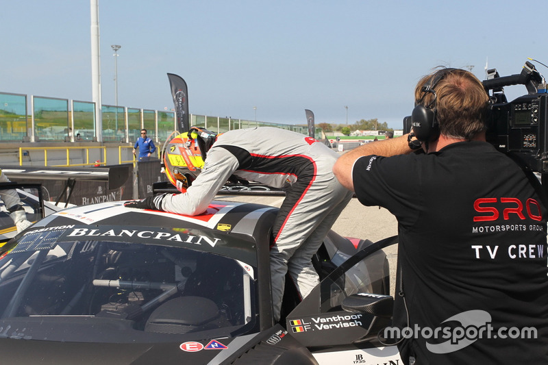 1. Hauptrennen: Laurens Vanthoor, Frederic Vervisch, Audi R8 LMS, Belgian Audi Club Team WRT