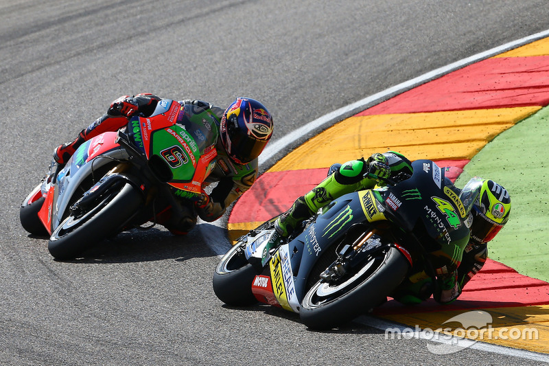 Pol Espargaro, Monster Yamaha Tech 3, Stefan Bradl, Aprilia Gresini Racing Team