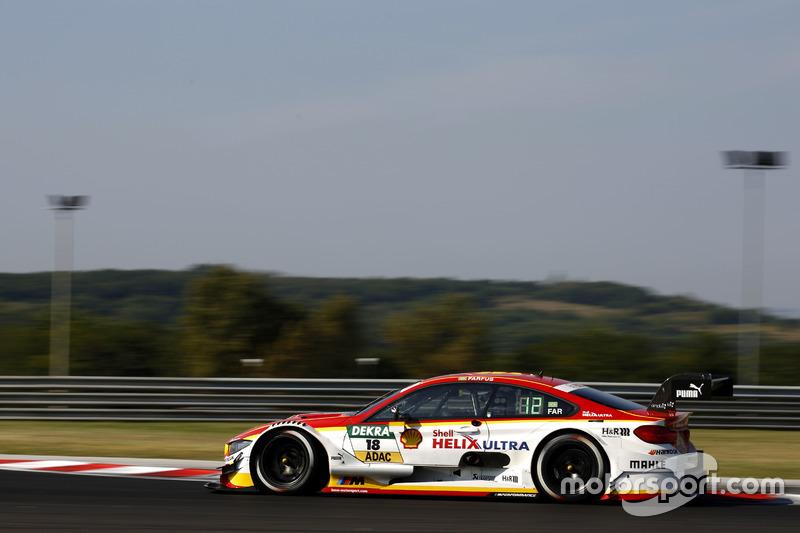 Ausgefallen: Augusto Farfus, BMW Team MTEK, BMW M4 DTM