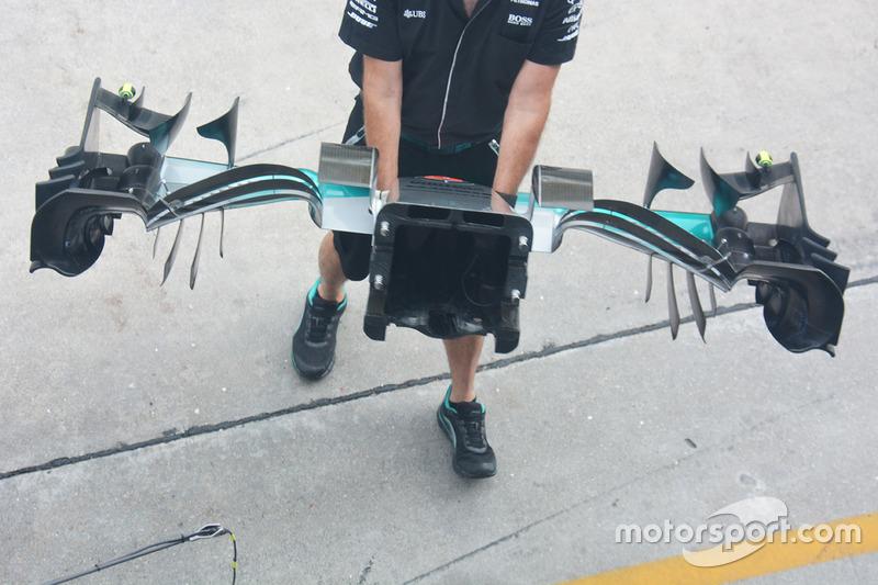 Mercedes-Frontpartie