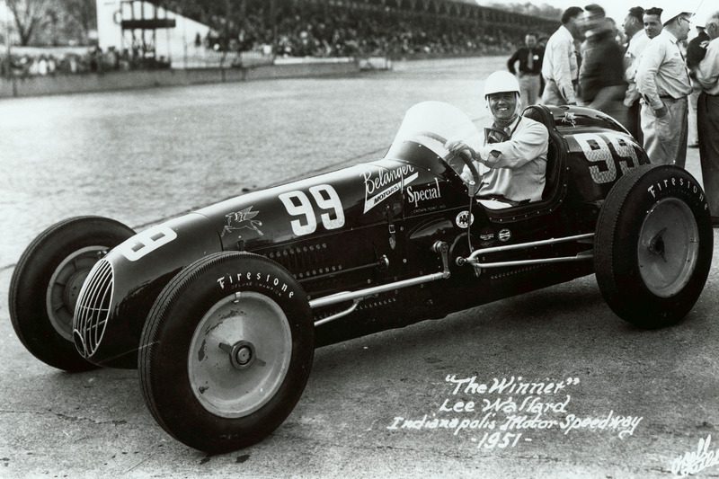 Lee Wallard (Kurtis Kraft) - Indy 500 1951