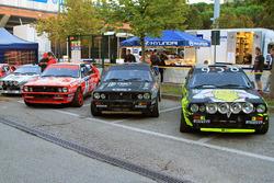 Lancia Delta HF Integrale и Lancia Rally 037 участников, Rallylegend 2016 года