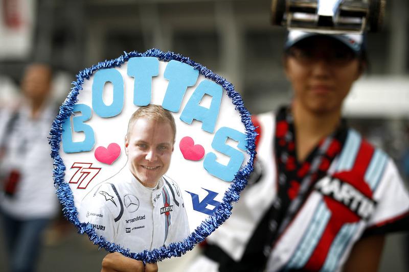Fan of Valtteri Bottas, Williams