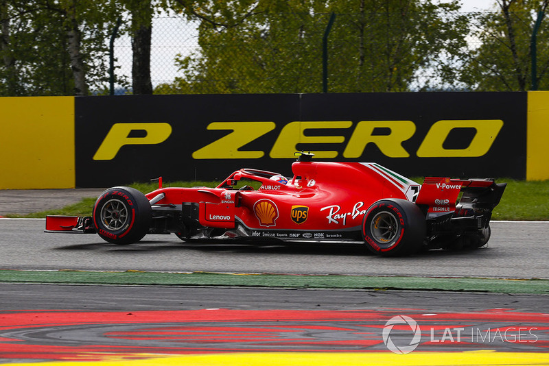 Raikkonen was left with a malfunctioning DRS