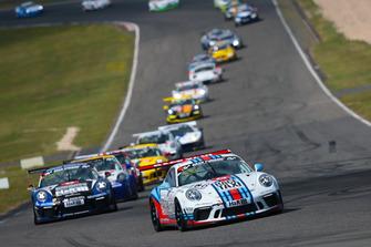 #106 Porsche 911 GT3 Cup: Philip Hamprecht, Manuel Lauck, Fabian Schiller