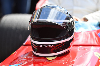 Le casque de Jacky Ickx, Ferrari 312B