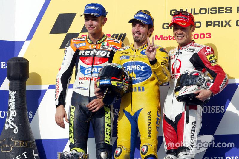 2003 : Max Biaggi (Camel Pramac Pons)
