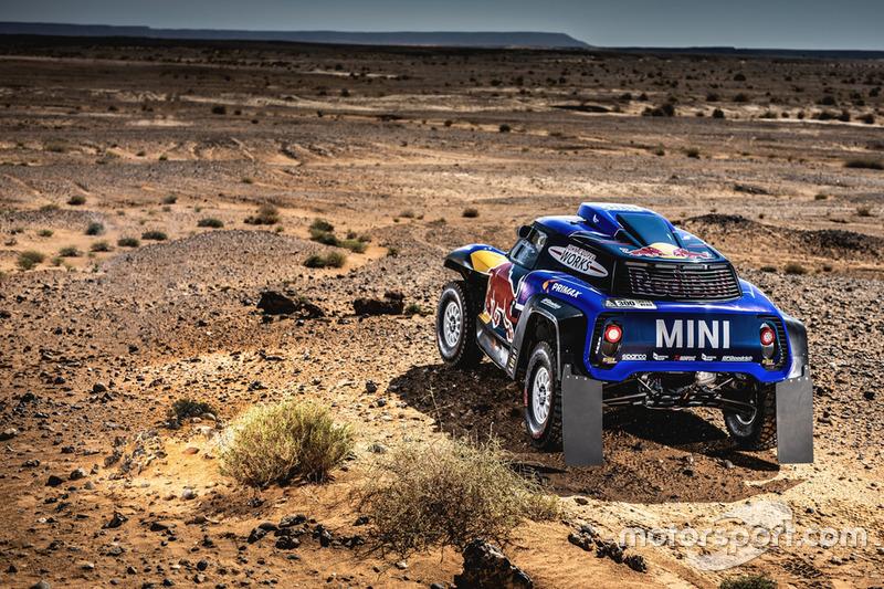 Carlos Sainz,Lucas Cruz,MINI John Cooper Works Buggy,X-raid MINI JCW Team