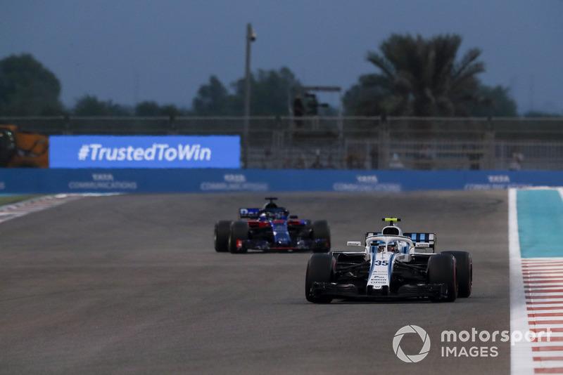 Сергій Сироткін, Williams FW41, Брендон Хартлі, Scuderia Toro Rosso STR13